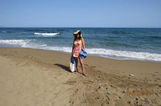 Hotel Rethymnon Mare : Beach