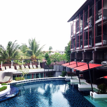 Red Ginger Chic Resort: View from restaurant
