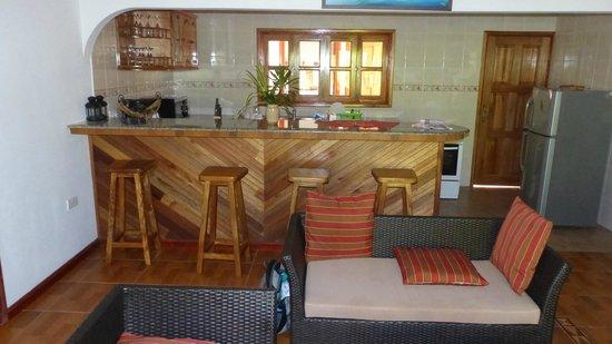 Casa De Leela : Lounge/kitchen area