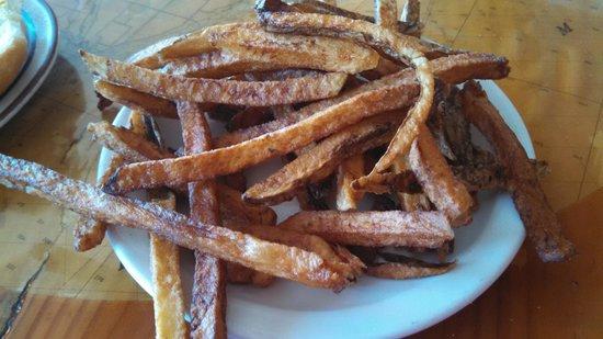 """JJ""""s La Puerta: Great Sweet Potato Fries"""