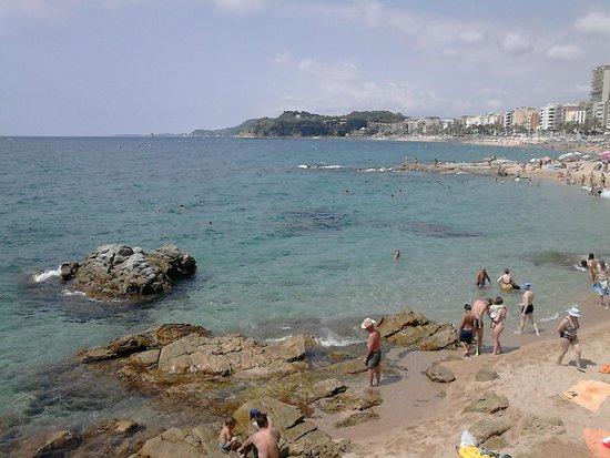Lloret Beach: plage