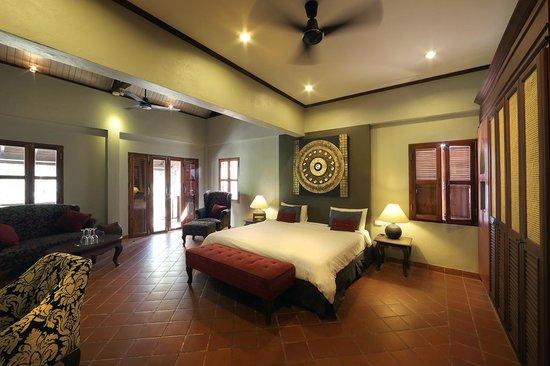 Hotel Villa Deux Rivieres: River View Suite
