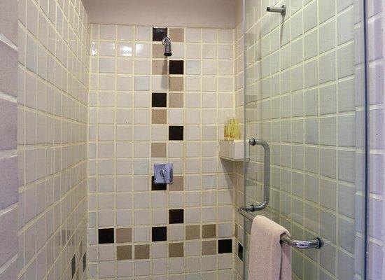 Hotel Villa Deux Rivieres : Luxurious shower