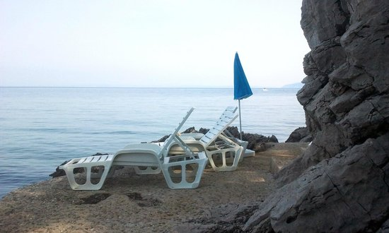 Pension Stanger: Spiaggia