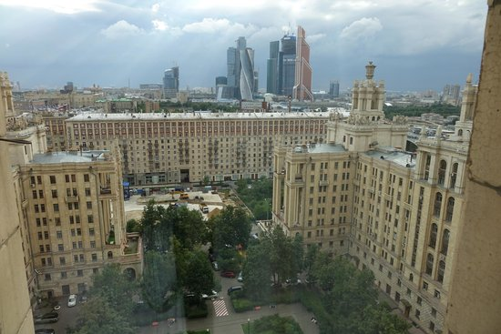Radisson Royal Hotel Moscow: View from our room