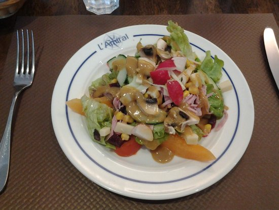 L'Amiral: Starter at lunch