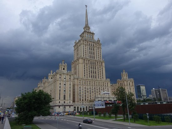 Hotel Ukraina Now The Radisson Royal Moscow One Of Stalin S 7 Gothic
