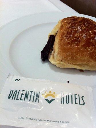 Valentin Sancti Petri Hotel Chiclana: Pelo en la zona del chocolate, ampliar.