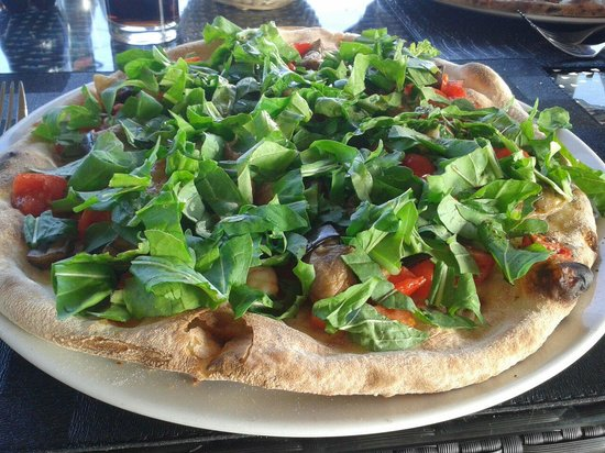 Fliegu Restaurant : Delicious Pizza