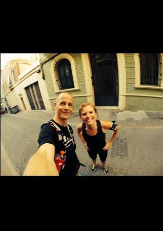 Running Tours Barcelona: Early bird running tour at 06.30 am - Whats not to like 👍☀️👌🌺