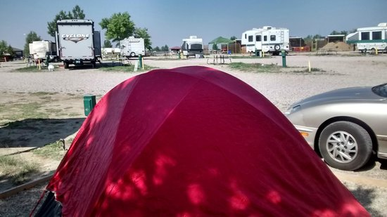 Bar Nunn, WY: Tent Site Casper WY KOA