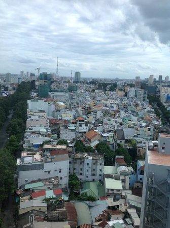Pullman Saigon Centre Hotel : view from rm 2018