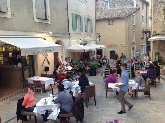 Café Veranda : Belle soirée d'été