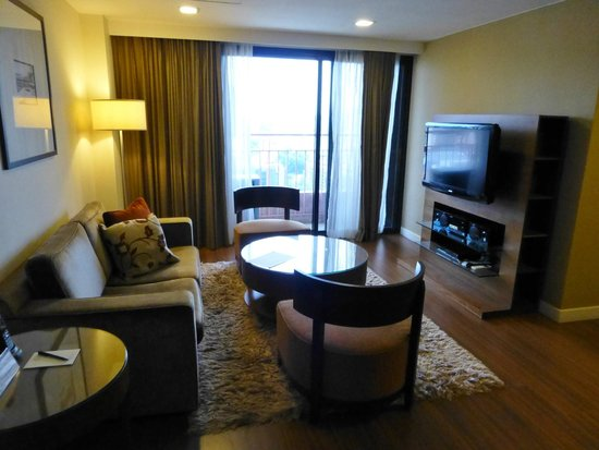 Somerset Liang Court Singapore: Lounge area of 2 bedroom apartment