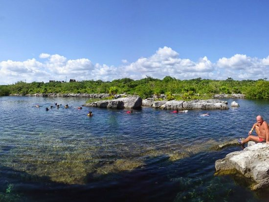 "Edventure Tours: The ""natural aquarium"" lagoon"