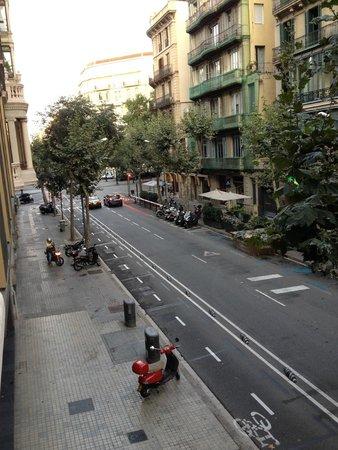 Circa 1905: View from balcony -Circa1905