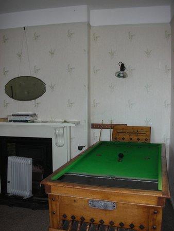 Seymour Arms: Games Room - bar billiards