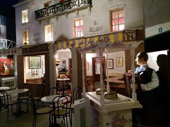 Musees des Automates / Modeles Reduits : quartier de paris