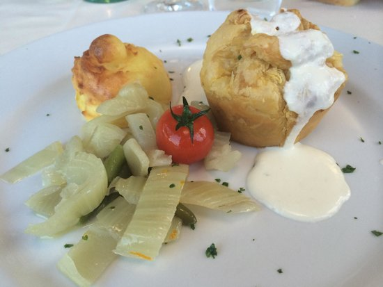 Grand Hotel Elba International : Secondo vegetariano