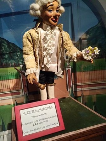 Musees des Automates / Modeles Reduits : automates beaumarchais