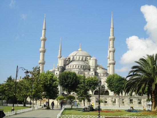 Mezquita Azul: Вид на Голубую мечеть
