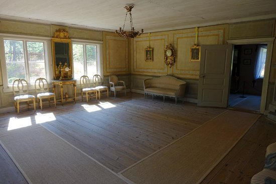 Musée de plein air de Seurasaari : Main Salon, Manor House, Seurasaari