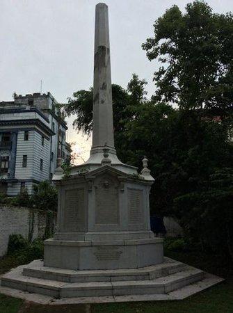 St. John's Church: the black hole monument