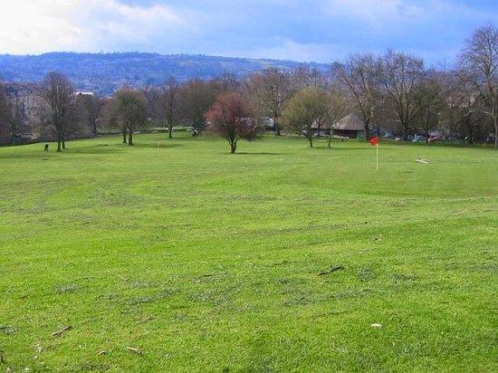 Royal Victoria Park  アプローチコース
