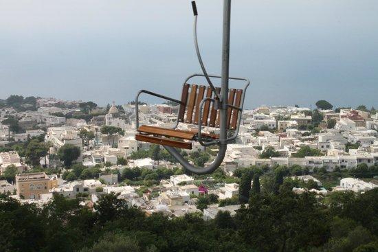 Mount Solaro: One person seats