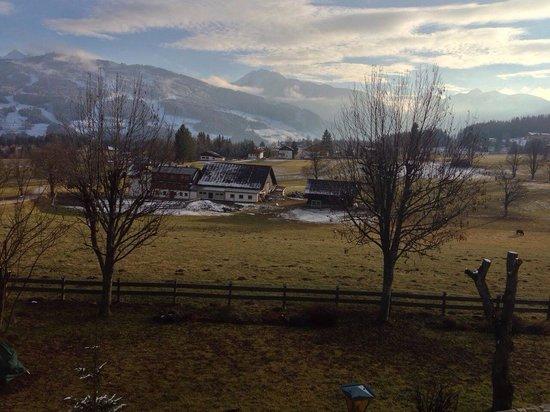 Almfrieden Wander- und Langlaufhotel: Vista panoramica mattutina