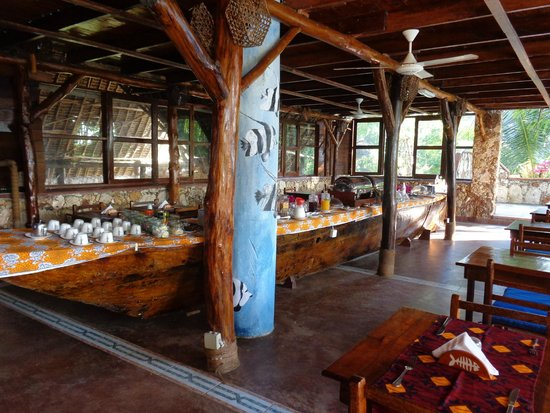 Samaki Lodge & Spa: Restaurant