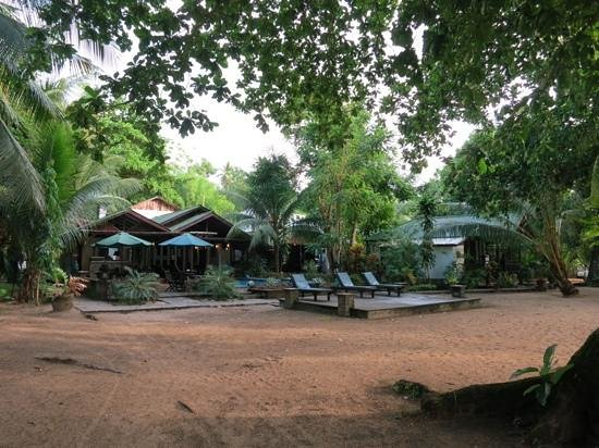 The Village Bunaken: The resort from the beach
