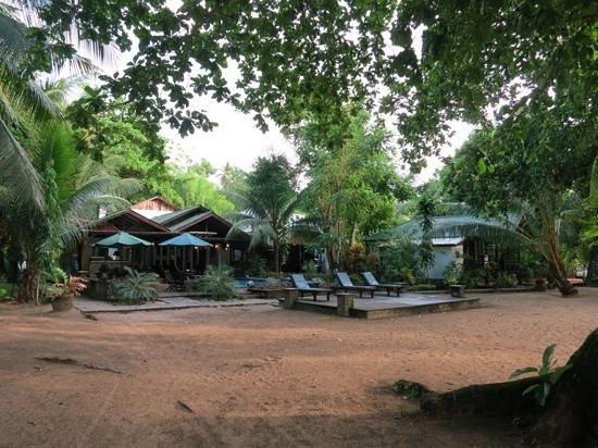 The Village Bunaken : The resort from the beach