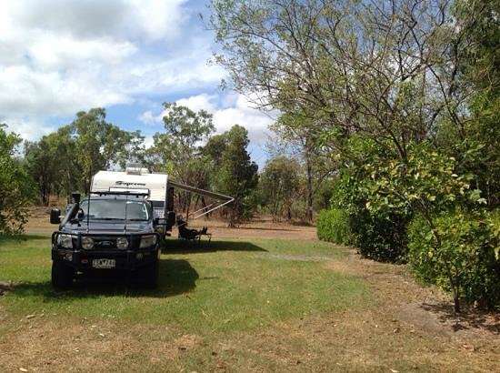 Kakadu Lodge and Caravan Park: Great site at Kakadu