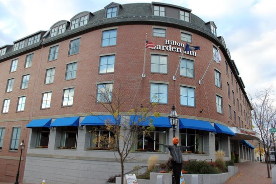 Hilton Garden Inn Portsmouth Downtown : Hotel