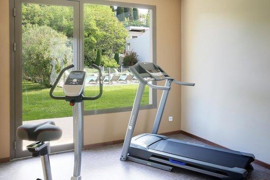 BEST WESTERN Hotel Elixir Grasse : salle de fitness