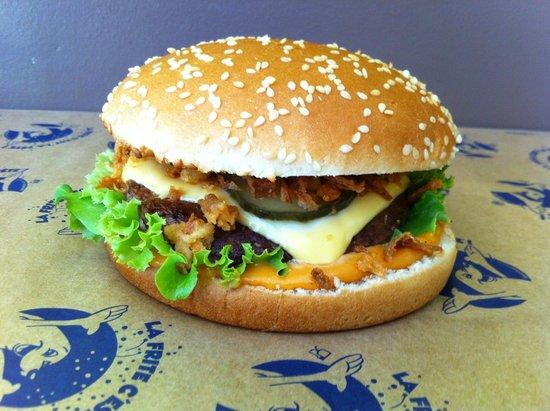 Friterie C'Chtiment Bon : Burger
