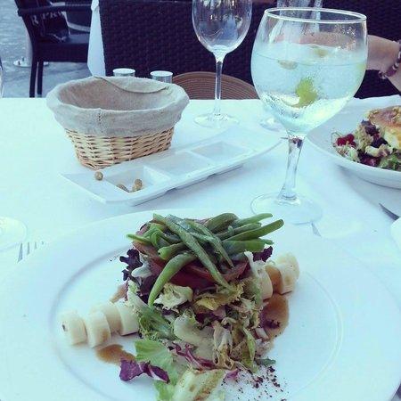 Toro Muelle Uno: Toro salad. To die for!