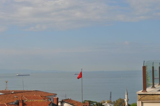 Hotel Fehmi Bey: View from the terrace