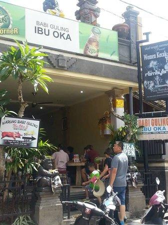 Warung Babi Guling Ibu Oka 3: Entrance