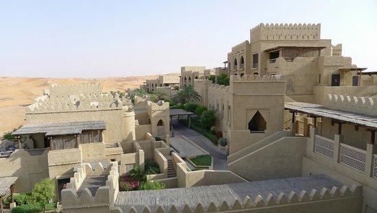 Qasr Al Sarab Desert Resort by Anantara: A palace in the desert.