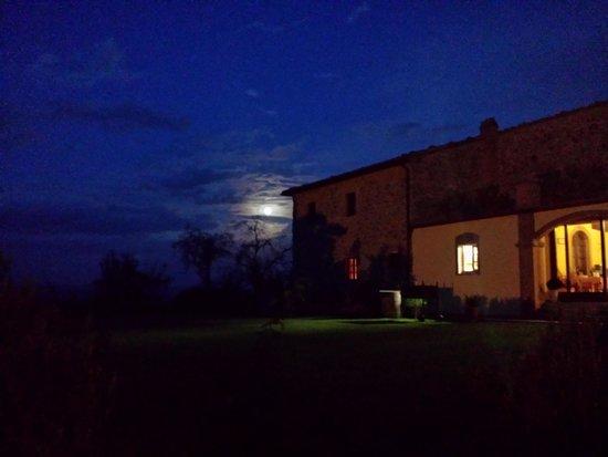 Tenuta di Seripa : Nachtansicht