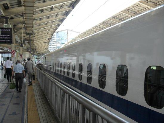 Tokyo Plaza Hotel: Nozomi (Bullet Train) to Osaka