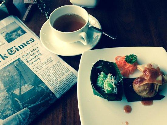 Pita Maha Resort and Spa: afternoon tea