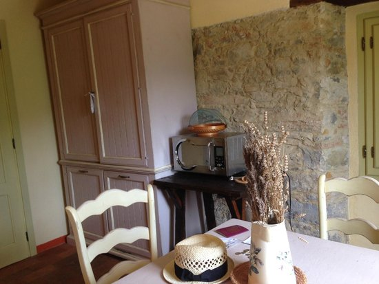 Agriturismo Podere San Rocchino: Kitchen in our room