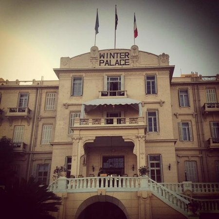 Sofitel Winter Palace Luxor: Hotel Entrance