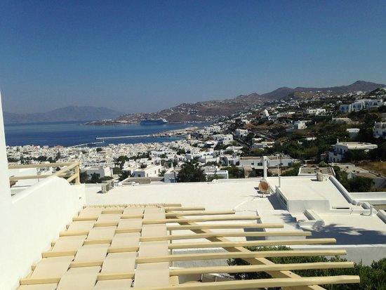 Pelican Hotel: Vue de la chambre