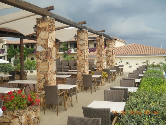 Hotel Palau: Vista