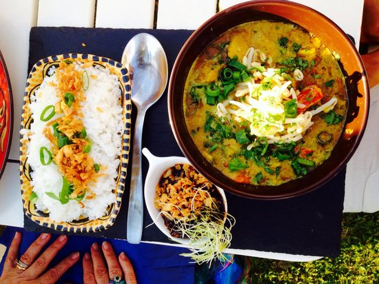 Cafe del Arte: Lovely curry