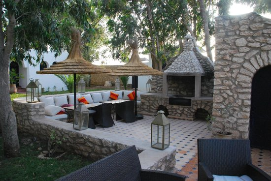 Villa Amaryllis : Coin détente piscine